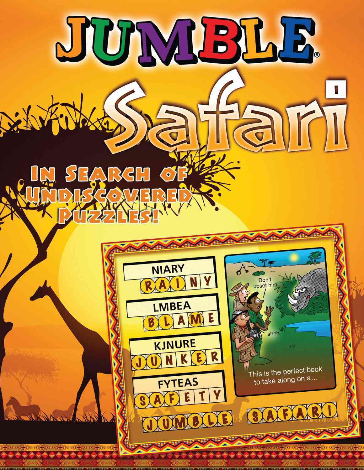 Jumble Safari By Tribune Media Services (COR)